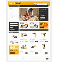 Tools Store CS-Cart Template