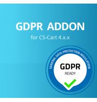 GDPR for CS-Cart 4.x
