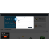 Banner & Newsletter Popups for CS-Cart
