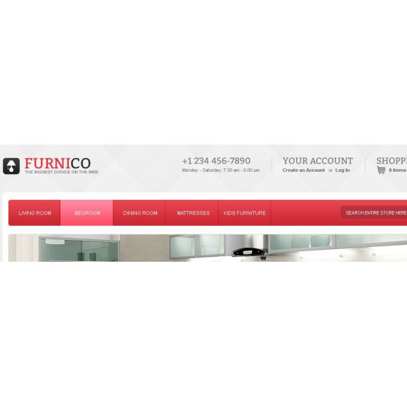Furnico CS-Cart Template