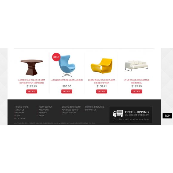 Furnico - CS-Cart furniture Template