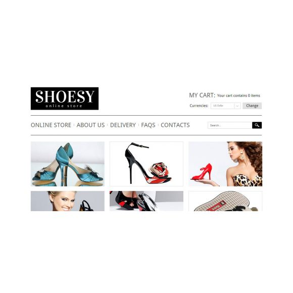 Shoesy CS-Cart Template