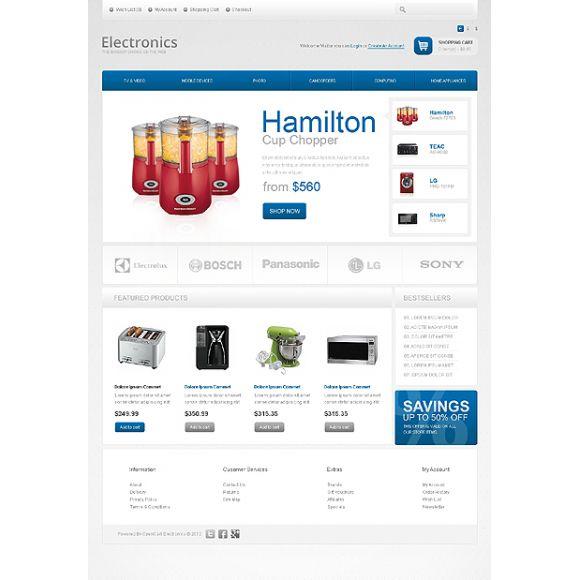 Hamilton CS-Cart Template