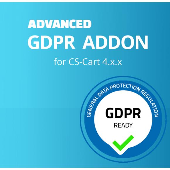 Advanced GDPR Addon για CS-Cart