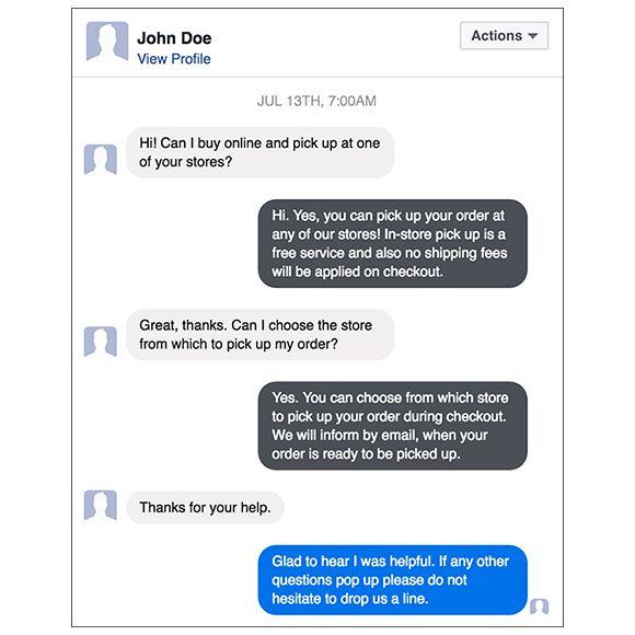 Facebook Messenger for CS-Cart
